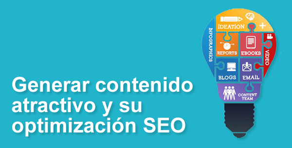 marketing de cotenidos, optimización SEO de contenidos