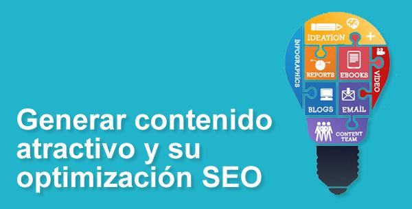 marketing de cotenidos, optimización SEO de contenidos
