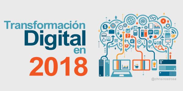 la transformación digital en 2018