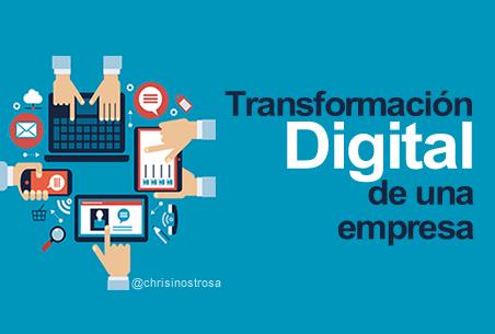 ¿Qué es la transformación digital de una empresa?