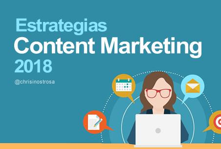 estrategias content marketing 2018