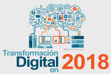 Factores Clave para la Transformación Digital de las Empresas en 2018